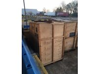 Scrap storage containers