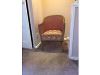 1950's Pink Bedroom Chair.