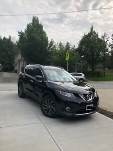 LEASE TAKE OVER----$375/ month 2016 Nissan Rogue SL  AWD