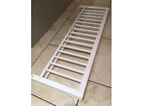 Safetot white wooden bedguard / bedrail