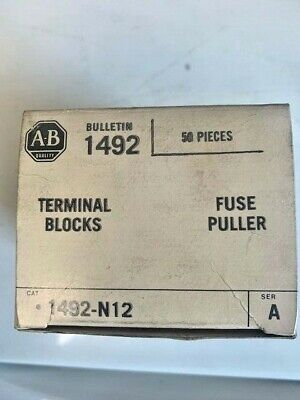 Allen-Bradley 1492-N12 Terminal Block Fuse Pullers