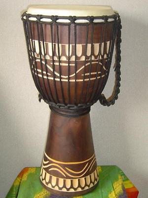 """SALE ! PRO 20"""" Compromise Djembe Bongo Hand Drum M10 + FREE COVER"""