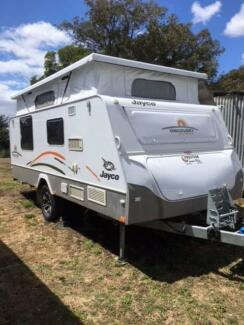2012 Jayco Discovery Outback (off road)