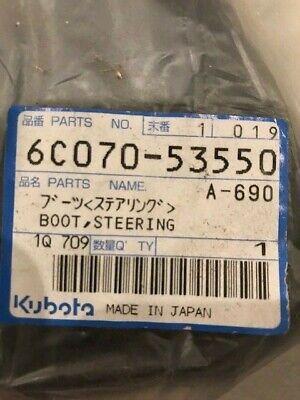 Kubota 6c070-53550 Boot Steering Wheel Oem Part New