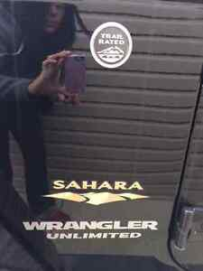 Jeep Sahara Wrangler Unlimited FOR SALE