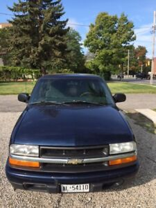 2002 Chevy S10 with low 185,000 KMs