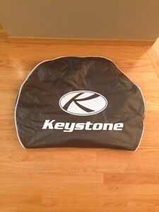 """""""Keystone"""" spare wheel cover for 14""""/15"""" tires … NEW CONDITION!"""