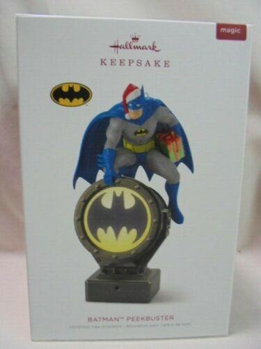 2018 Hallmark Keepsake Ornament Batman Peekbuster B13