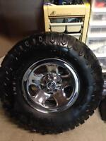 Nice clean Jeep TJ Wrangler Tires and Rims