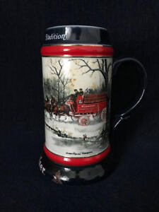 1990 Budweiser Collector Series Mug