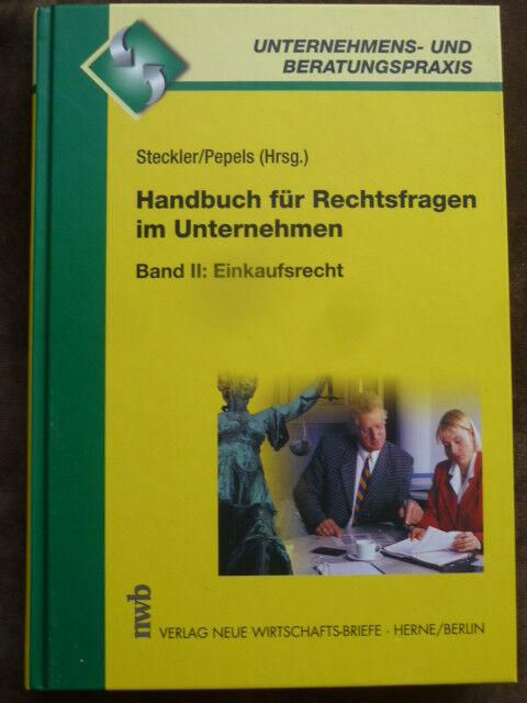 Handbuch für Rechtsfragen im Unternehmen: Handbuch für Rechtsfragen im...   Buch