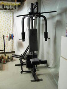 bench press et appareil dexercise 100$