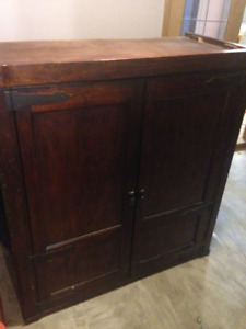 Large Wooden Storage Unit (Price Reduced)