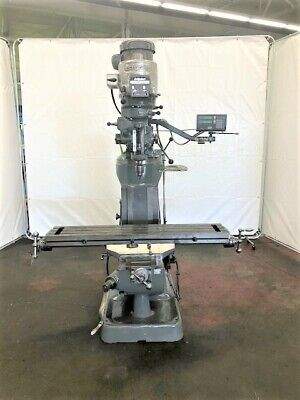 Bridgeport Series I 2 Hp Vertical Ram Type Milling Machine Id M-080