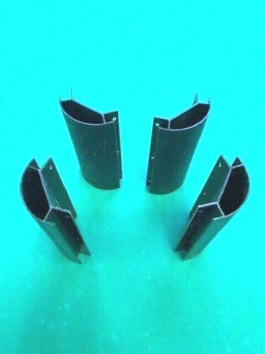 Pool Table Plastic Corner Apron Miter Radius Molding Set - 6 1/2 x 1/2  Inch