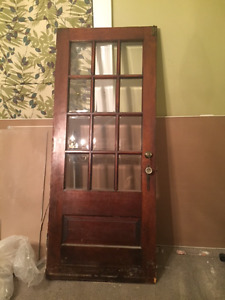 Antique door - great condition with all hardware