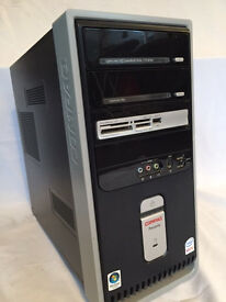 Tower computer - Compaq. Hard drive removed