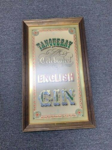Tanqueray celebrated English Gin Vintage Bar Plaque