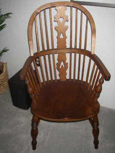 CIRCA 1850 WINSOR STICK BACK CHAIR