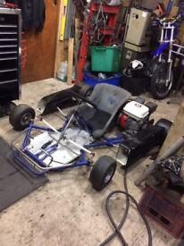Twin Engine Honda Go Kart