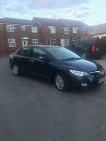 Honda Civic HYBRID Automatic 1.4L Leather seats, 72K low miles Excellent condition Long MOT and TAX