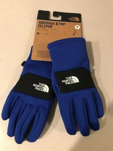 The North Face Boys Youth Sierra Etip Gloves TNF Blue NWT