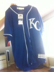 Brand new Kansas City Royals jersey