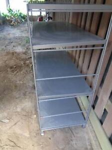 Metal shelves cabinet storage server rack Moorooka Brisbane South West Preview