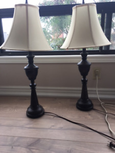 Matching Lamps from Bombay