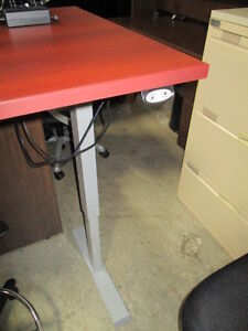 Sit Stand Height Adjustable Table Desk Peterborough Peterborough Area image 2