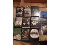 Job lot of magic DVDs including Jay Sankey