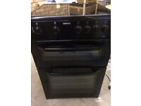 Black Beko 60cm Electric Cooker, Great Condition, £100 ONO | Kenilworth
