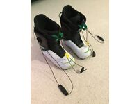 Size 8 Burton Moto snowboard boots