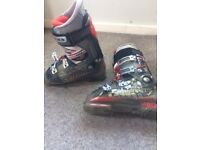 Salomon X Wave Ski Boots - Size 8 to 8.5 + Boot Bag