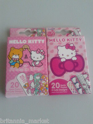 20 PFLASTER - PLASTER - HELLO KITTY - STERIL VERPACKT - Hello Kitty Pflaster