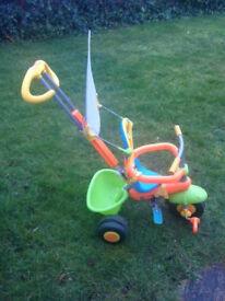 3 in 1 children's trike