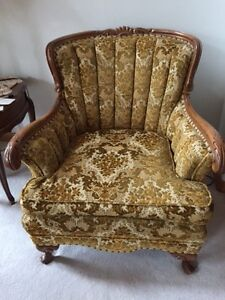 French Provincial sofa and chairs