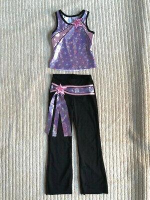 Pink & Purple Youth Jazz/Tap Musical Theatre Dance - Pink Jazz Dance Kostüme
