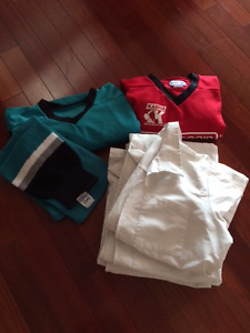 "4 Doctor Jackets, 2 Hockey Shirts/Socks-For the ""Dress-Up"" Box!"