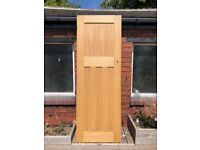 Doors X 3- Oak Veneer Engineered Timber doors