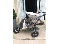 Out n About Nipper 360 Double Buggy - suitable for Newborn - 4 years