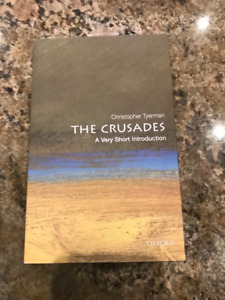 The Crusades: A Very Short Introduction by Christopher Tyerman