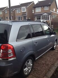 Vauxhall Zafira for sale in excellent condition, full service history & 10 months MOT