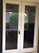 French doors plus security screens Burnside Burnside Area Preview