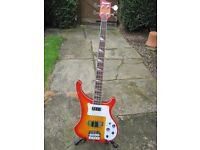 Quality Full size Bass Guitar in excellent condition.