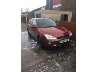 Ford focus spares or repairs 1.6 16v 2000