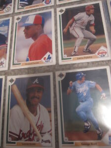 VINTAGE 1980'S 1990'S  BASEBALL CARDS COLLECTION