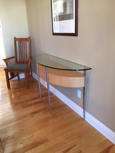 modern design hall table