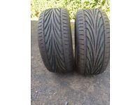 Brand New Tyres TOYO PROXES 225 50 15