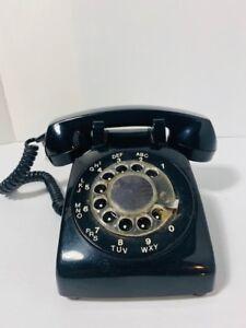 *Téléphone a roulette NOIR - Vintage rotary phone*